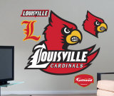 Louisville Cardinals Logo -Fathead Wall Decal