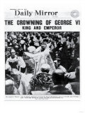 The Crowning of George VI, King and Emperor Giclee Print