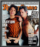 Mick Jagger and Keith Richards, Rolling Stone no. 775, December 1997 Poster by Mark Seliger