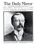 End of the Atlantic Chase: 'Dr' Crippen, Who was Arrested at Father Point, Canada, Yesterday Giclee Print