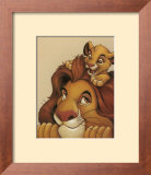 Simba and Mufasa - My Father, My Friend Posters