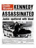 Kennedy Assassinated Giclee-trykk