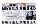 Man in Space Giclee Print