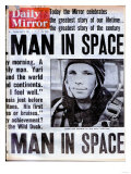 Man in Space Premium Giclee Print