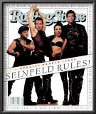 Cast of Seinfeld, Rolling Stone no. 660/661, July 1993 Posters by Mark Seliger