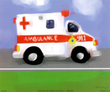 Ambulance Poster by Anthony Morrow