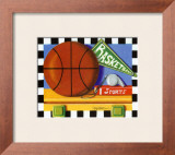 Basketball Prints by Kathy Middlebrook
