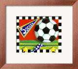 Soccer Art by Kathy Middlebrook