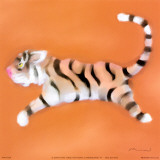 Tiger Prints by Anthony Morrow