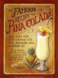 Pina Colada Posters by Lisa Audit