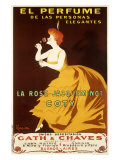 La Rose Jacqueminot Coty Giclee Print by Leonetto Cappiello