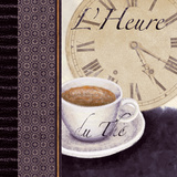 L'Heure du The Print by Linda Wood