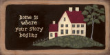 Home is Where Story Posters by Jo Moulton