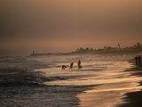Dusk Over Labadi Beach, Accra, Ghana, Photographic Print