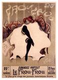 Le Frou-Frou Giclee-vedos tekijänä Lucien-Henri Weiluc