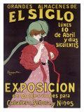 Leonetto Cappiello - El Siglo Exposicion - Giclee Baskı