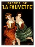 Bieres de La Fauvette Gicléedruk van Leonetto Cappiello