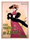 Les Parfums de J. Daver, Paris Giclee Print by Leonetto Cappiello