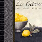 Les Citrons II Poster par Linda Wood