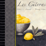 Les Citrons II Poster by Linda Wood