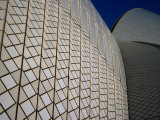 Sydney Opera House Detail, Sydney, New South Wales, Australia Photographic Print by Glenn Beanland