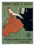 Pianos Ortiz & Cusso Giclee Print by Leonetto Cappiello
