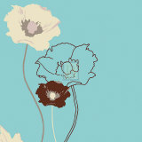 Golden Poppy III Prints by Kate Knight