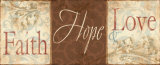 Faith Hope Love Print