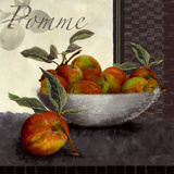 Les Pommes Prints by Linda Wood