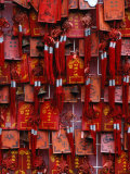 Prayer Offerings at Dongyue Temple in Chaoyangmen Wai Bejing, China Photographic Print by Phil Weymouth
