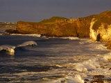 14th Century Dunluce Castle on Coastal Cliffs, Antrim, Northern Ireland Photographic Print by Gareth McCormack