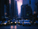 Traffic on 5th Avenue, New York City, New York, USA Photographic Print by Angus Oborn