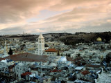 Old City of Jerusalem, Jerusalem, Israel Photographic Print by Izzet Keribar