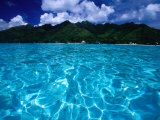 Lagoon in Haapiti, Moorea, the French Polynesia Fotoprint van Paul Kennedy