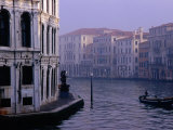 Early Morning Mist on Grand Canal Venice, Italy Photographic Print by Glenn Beanland