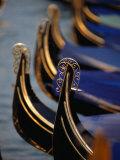 "Gondola Stern Ironwork ""Feri Da Pope,"" Venice, Veneto, Italy Photographic Print by Roberto Gerometta"