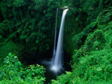 Fuipisia Falls on the Mulivaifagatola River, Atua, Samoa, Upolu Photographic Print by Mark Daffey