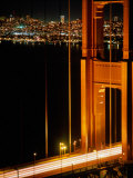 The Golden Gate Bridge with the City of San Francisco Behind, San Francisco, California, USA Photographic Print by Jan Stromme