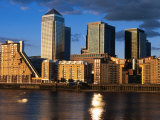 Canary Wharf Tower Development, London, England Photographic Print by Neil Setchfield