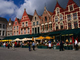 The Central Square in Brugges, Belgium Photographic Print by Doug McKinlay