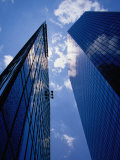 Looking Up at Bank of America Plaza Tower (Right), Charlotte, USA Photographic Print by Richard Cummins