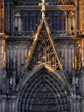 Facade of Cologne Cathedral, Cologne, Germany Photographic Print by Rick Gerharter