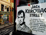 Sign, Jack Kerouac Street, North Beach District, San Francisco, United States of America, Photographic Print