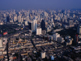 Cityscape from Baiyoke Sky Tower, Bangkok, Thailand Photographic Print by Richard I'Anson