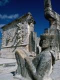 Mayan Ruins at Chichen Itza Site, Chichen Itza, Yucatan, Mexico Photographic Print by Eric Wheater