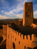 Citadel Tower in 2000 Year Old Arg-E Bam (Bam Citadel), Bam, Kerman, Iran Photographic Print by Mark Daffey