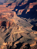 Overhead of South Rim of Canyon, Grand Canyon National Park, U.S.A. Photographic Print by Mark Newman