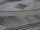 Zen Garden at Rengejo-In, Koya-San, Japan Photographic Print by Frank Carter