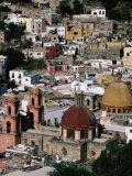 Overview of the City of Guanajuato, Mexico Photographic Print by Jeffrey Becom