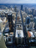 Johannesburg City Centre from the Carlton Centre, Johannesburg, Gauteng, South Africa Photographie par Richard I'Anson